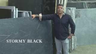 Stormy Black Soapstone