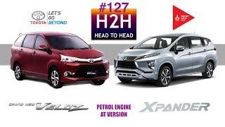 Video H2H #127 Mitsubishi XPANDER vs Toyota Avanza VELOZ MP3, 3GP, MP4, WEBM, AVI, FLV Desember 2017