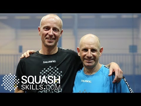 Squash tips: Jethro's interval advice for Jamie (In blue)