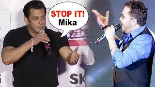 Video ANGRY Salman Khan SHOUTS & INSULTS  Mika Singh At Race 3 Trailer Launch MP3, 3GP, MP4, WEBM, AVI, FLV Agustus 2018