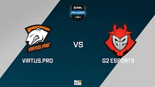 VP vs G2, game 1