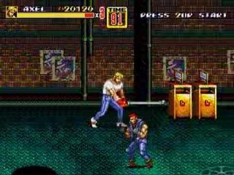 Streets of Rage 2 Megadrive