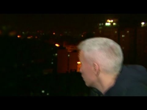 Bomb Explodes Near Anderson Cooper During Live Report