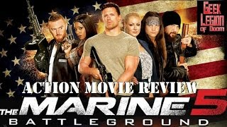 THE MARINE 5 :  BATTLEGROUND ( 2017 Mike 'The Miz' Mizanin ) WWE Action Movie Review