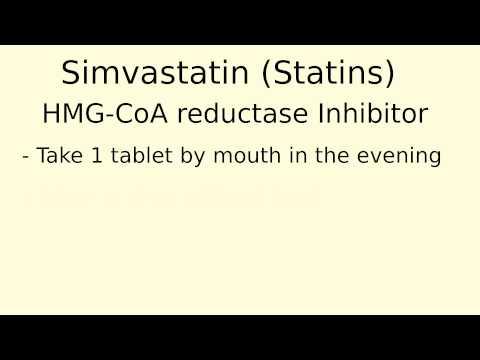 How does Simvastatin (Statins) work?