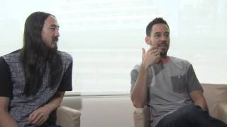 """Mike Shinoda & Steve Aoki Discuss """"A Light That Never Comes"""""""