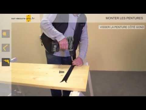 comment poser volet bois