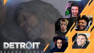 Video Gamers Reactions to CONNOR SLAPPING HANK | Detroit: Become Human MP3, 3GP, MP4, WEBM, AVI, FLV Agustus 2018