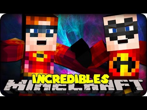 Minecraft Mods – THE INCREDIBLES ! ( Incredibles Mod Showcase)