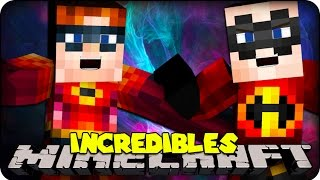 Minecraft Mods - THE INCREDIBLES ! ( Incredibles Mod Showcase)