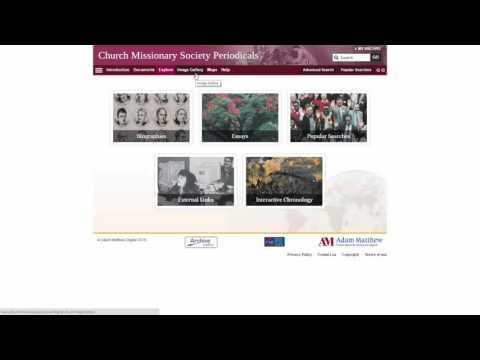 Product Overview Webinar: Missionary History Featuring Guest Speakers