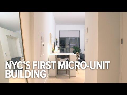 このマイクロユニット住宅でニューヨークの住宅難は解決するかも...?