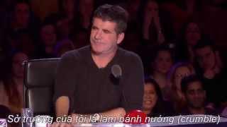 """(Vietsub) Nút vàng """"khó đỡ"""" của David - Britain's Got Talent 2015"""