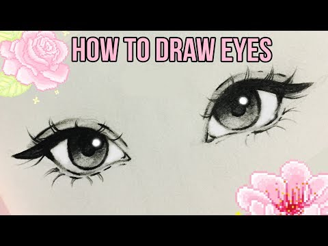 How To Draw Eyes ♡ | By Christina Lorre'