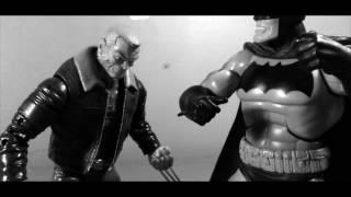 [ NOIR EDITION ] Logan VS Batman STOP MOTION