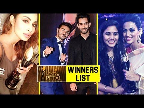 Full Winners List | 5th Colors Golden Petal Awards 2017