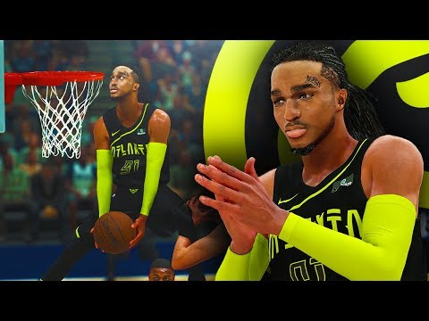 QUAVO FIRST GAME IN ATLANTA! CRAZY 70 INCH VERTICAL ON PUT BACK DUNK! NBA 2K18 Migos MyCAREER #1