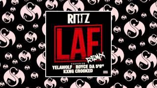 "Rittz - LAF Remix (Feat. Yelawolf, Royce Da 5'9"", & KXNG CROOKED) - YouTube"