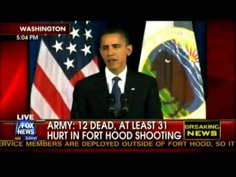 VIDEO: FLASHBACK 2009 Obama Fort Hood Statement With Shout Outs