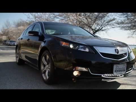 Acura TL Тест Acura TL 2012