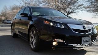 2012 Acura TL Test Drive&Review