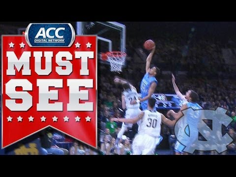 JP Tokoto Dunk Contest - One of the top dunkers in the ACC was at it again on Saturday afternoon! J.P. Tokoto gets by the Irish defense and throws down a monstrous jam! SUBSCRIBE: ht...