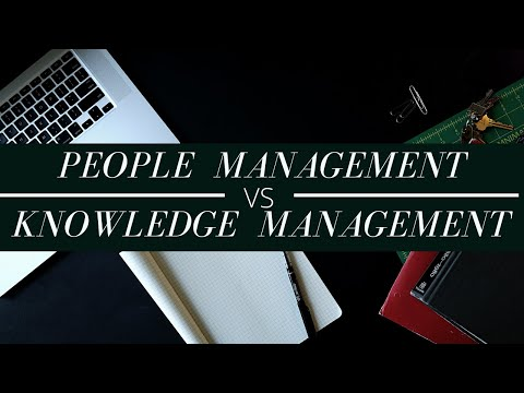 People Management vs Practice of Knowledge Management