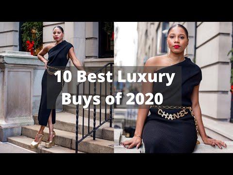 Top 10 Luxury Designer Buys of 2020 | MONROE STEELE видео