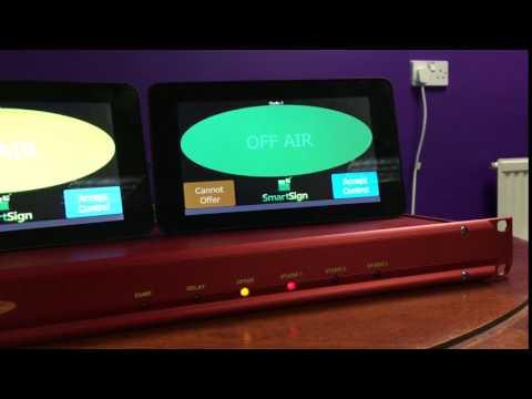 SmartSign Controlling Sonifex RB-OA3 Studio Switcher