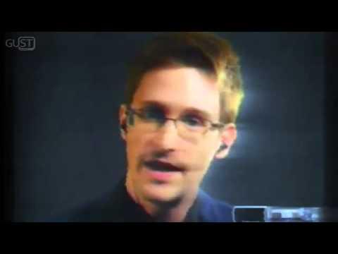 Edward Snowden Welcomes Glasgow University Students