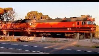 Ceduna Australia  City pictures : Gypsum Train Ceduna South Australia 26 08 2014