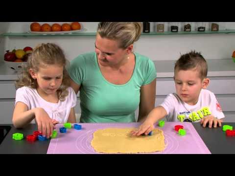 Видео Формочки для печенья из пластмассы Tescoma Формочки цифры DELICIA KIDS, 21 шт. Tescoma 630926