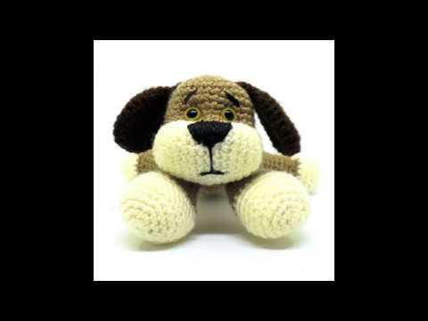 Stuffed doggie, Plush dog, Handmade gifts, Crochet animals, Crochet toys, Doggie