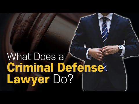 [Korean lawyer] What Does a Criminal Defense Lawyer Do?