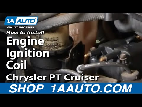 How To Install Replace Engine Ignition Coil Chrysler PT Cruiser 01-03 1AAuto.com