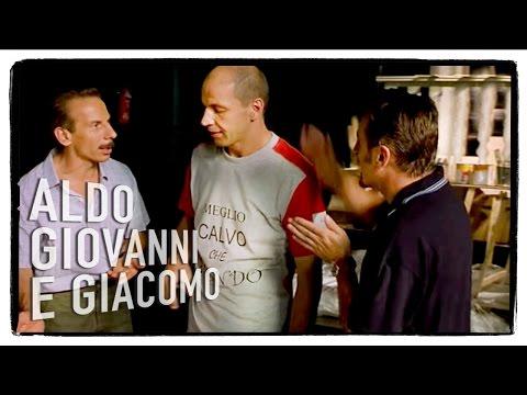 Aldo,Giovanni e Giacomo - La commedia c'è il manifesto pure - Chiedimi se sono felice