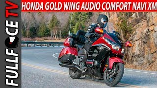 2. 2017 Honda Gold Wing Audio Comfort Navi XM ABS Review