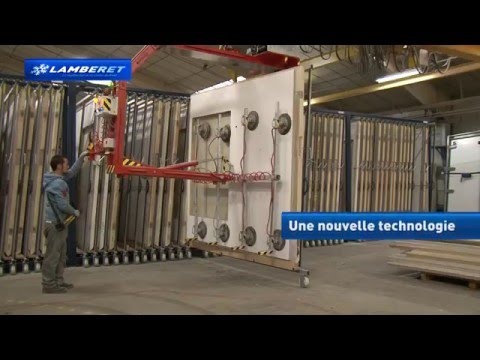 LAMBERET: Nouvelle usine VU à Saint Eusebe