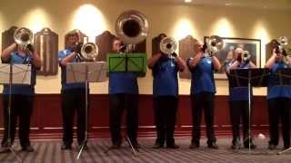 "2012 Basement Brass playing ""Dindi"""