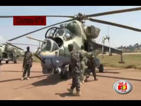Moment before 'missing' Ugandan choppers left Soroti