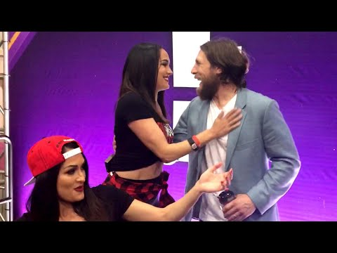 Video Daniel Bryan surprises Brie with a kiss: WrestleMania Diary download in MP3, 3GP, MP4, WEBM, AVI, FLV January 2017