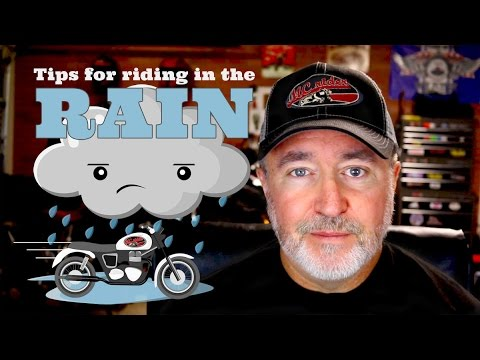 Tips for riding a motorcycle in the rain - Episode - 29 MCrider