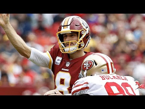 Kirk Cousins Leads Redskins Past the 49ers | Stadium