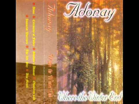 Adonay - Where The Winter End (1996) (Black Metal Paraguay) [Full Demo]