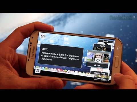 features - Audible - http://audible.com/ty In this video we take a look at the 13 megapixel camera in the Samsung Galaxy S4. I go over all the new features that make it...