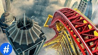 Video GILA! 10 Roller Coaster Paling MENGERIKAN Di Dunia MP3, 3GP, MP4, WEBM, AVI, FLV Oktober 2017