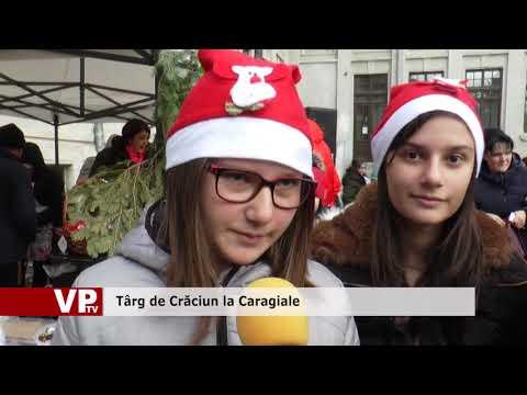 Târg de Crăciun la Caragiale