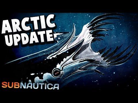 Subnautica - The Arctic DLC - A Horrifying New Creature, Release Date & More! - Subnautica Updates (видео)