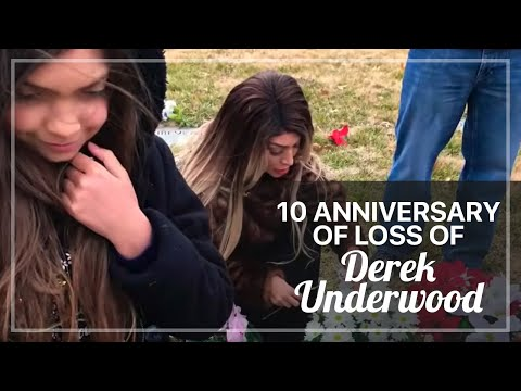 10 ANNIVERSARY OF LOSS OF DEREK UNDERWOOD , SOPHIA ABRAHAM DAD