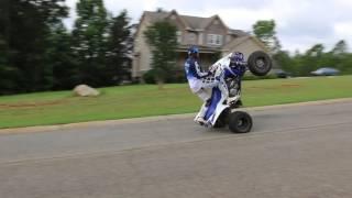 3. 2017 Yfz 450r Wheelie Fail!